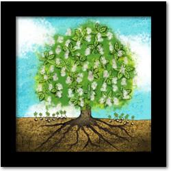 Un arbre / Illustration par Luc Pallegoix