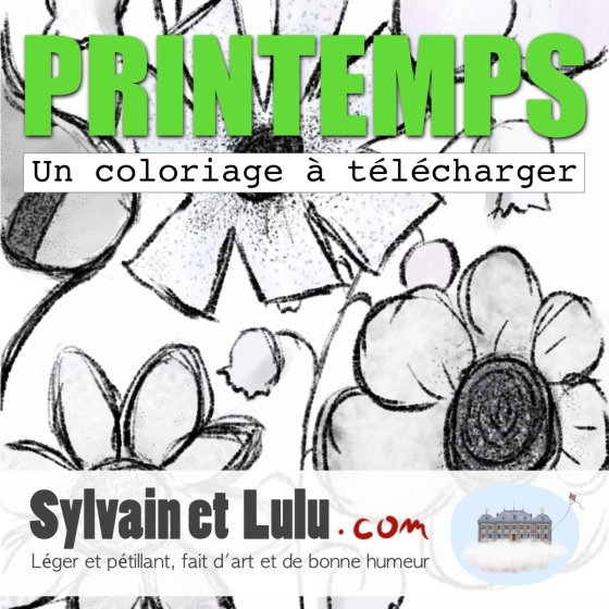 Coloriage - PRINTEMPS